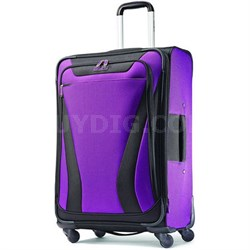 Aspire Gr8 25 Exp. Spinner Suitcase - Purple - OPEN BOX