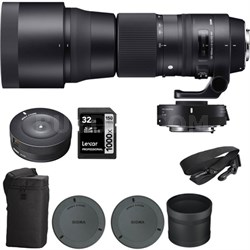 150-600mm F5-6.3 Sports Lens & Teleconverter Kit for Canon w/ USB Dock Kit