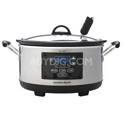 33966 6 Qt. Programmable Slow Cooker