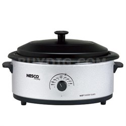 Nesco 6qt Roaster Oven Silver