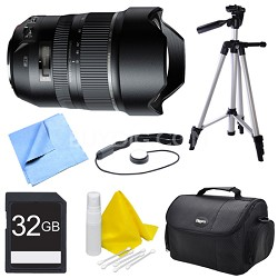 A012 SP 15-30mm F/2.8 Ultra-Wide Angle Zoom Di VC USD Lens for Nikon Bundle