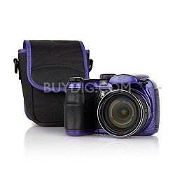 X550 16MP 15X Wide-Angle Optical Zoom 2.7 LCD Cam/Case - OPEN BOX