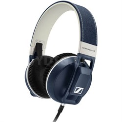 URBANITE XL Over-Ear Headphones for iOS - Denim