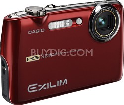 "Exilim FS10 9MP 2.5"" LCD Digital Camera (Metallic Red)"
