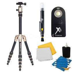 A0350Q0A Backpacker Travel Gold Tripod Accessory Kit