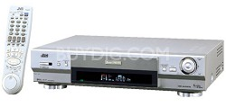 HR-S9911U S-VHS VCR, 4 {rp-Cision 19 Micron Heads, Hi-Fi Stereo, S-VHS-ET