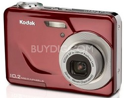 """EasyShare C180 10.2 MP 3x Zoom 2.4"""" LCD Digital Camera (Red)"""