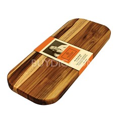 Batali Edge Grain Teak Bread Board - M-01