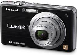 DMC-FH3K LUMIX 14.1 Megapixel Digital Camera (Black)