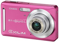 Exilim Z9 8.1 Megapixel Camera (Pink)