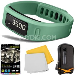 Vivofit Bluetooth Fitness Band Plus Accessory Bundle (Teal)(010-01225-03)