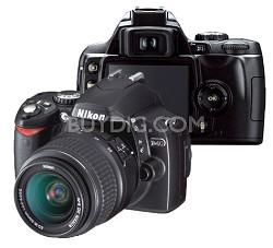 D40 Digital SLR Camera Kit w/ 18-55mm Zoom Lens, Refurbished