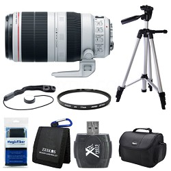 EF 100-400mm f/4.5-5.6L IS II USM Lens (9524B002) Bundle