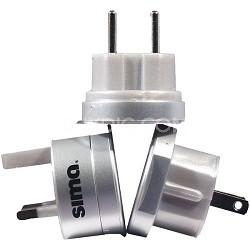 SIP-3 Ultimate International Travel Adapter Plug Set