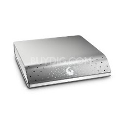 FreeAgent Desk 1 TB USB 2.0 External Hard Drive (Silver) - OPEN BOX