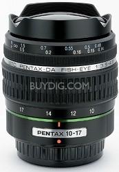 smc P-DA 10-17mm F3.5-4.5 ED (IF) Fish-Eye Auto Focus Zoom Lens