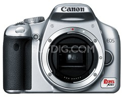 EOS Digital Rebel XSi Body  (Silver) - Lens Not Included