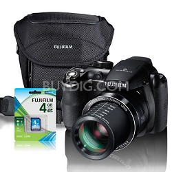FinePix S4400 Digital Camera 28X ZOOM Gift Bundle