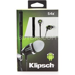 Image S4A II  In-Ear Enhanced Bass Noise-Isolating Headphone ANDROID Refurbished