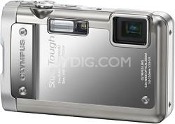 Stylus Tough 8010 Waterproof Shockproof Freezeproof Camera (Silver) - OPEN BOX