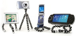 Gorillapod GoGo GP1-M1EN Flexible Tripod with Suction Cup And 2 Adhesive Clips