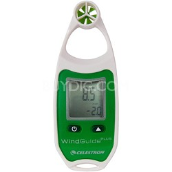 WindGuide Plus Anemometer - Green