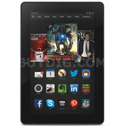 "Kindle Fire HDX 8.9"" Tablet HDX Display, Wi-Fi, 16 GB - OPEN BOX"