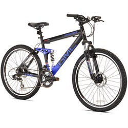 "26"" Topkick Dual Suspension 21 Speed Mountain Bike (72670) - OPEN BOX"