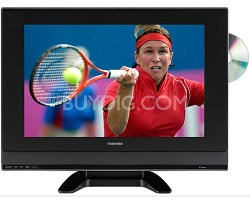 19HLV87 - 19' High-definition LCD TV w/ built-in DVD Player