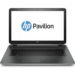 "Pavilion 17-f010us 17.3"" HD+ Notebook PC - AMD Quad-Core A6-6310 APU Processor"