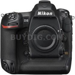 D5 20.8MP FX-Format Digital SLR Camera Body (XQD Version)