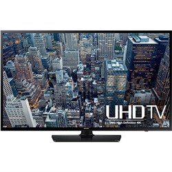 UN40JU6400 - 40-Inch 4K Ultra HD Smart LED HDTV - OPEN BOX