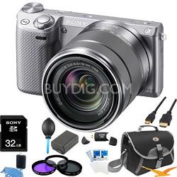 NEX-5RK/S Compact Digital Camera 18-55 Lens Ultimate Bundle