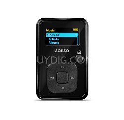 Sansa Clip Plus 2GB Black MP3 Player  ( SDMX18R-002GK-A57 )