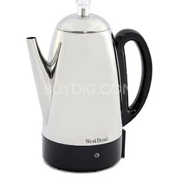 54159 Classic Stainless-Steel 12-Cup Percolator