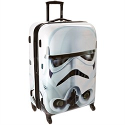 "28"" Hardside Spinner Suitcase (Star Wars Storm Trooper)"