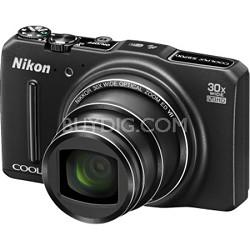 COOLPIX S9700 16MP Digital Camera w/ 30x Zoom + Wi-Fi + GPS (Black) Refurbished