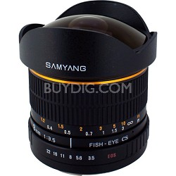 8mm F3.5 Fisheye Lens for Nikon AE with Automatic Chip