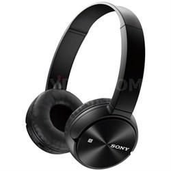 MDR-ZX330BT Wireless Bluetooth Headphones - Black