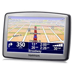 XL 330-S Wide-Screen Auto GPS Navigation System with Text-to-Speech REFURBISHED