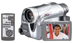 PV-GS35 MiniDV Camcorder w/ 30x Optical Zoom!