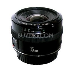 EF 35mm F/2.0 Wide Angle Lens, With Canon 1-Year USA Warranty