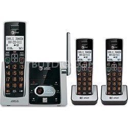 CL82313 DECT 6.0 3 Handset Cordless Answering System with Caller ID/Call waiting
