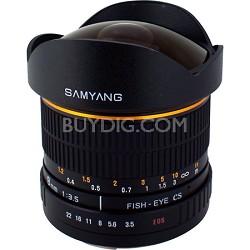 8mm F3.5 Fisheye Lens for Canon