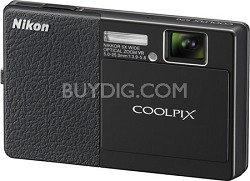 COOLPIX S70 12MP 3.5 inch Touchscreen Digital Camera (Black)