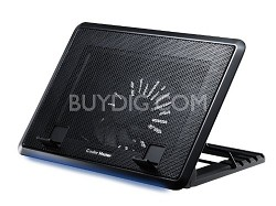 NotePal ErgoStand II - Adjustable Laptop Cooling Stand with LED Light Strip