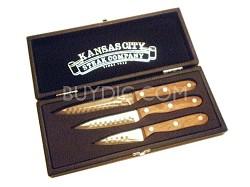3 Piece Paring Knife Set