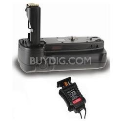 Battery Grip for Nikon D3000 + AA Power Pack