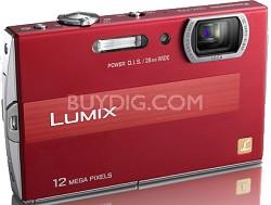 DMC-FP8R LUMIX 12.1 MP Digital Camera (Red)