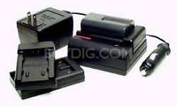 VBC-LIN AC/DC LITHIUM BATTERY CHARGER F/ SONY/PANASONIC/CANON